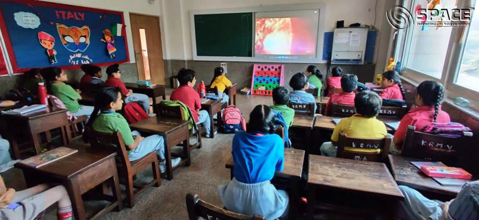 Students-of-Class-IV-watched-COSMOS-A-Space-Odyssey